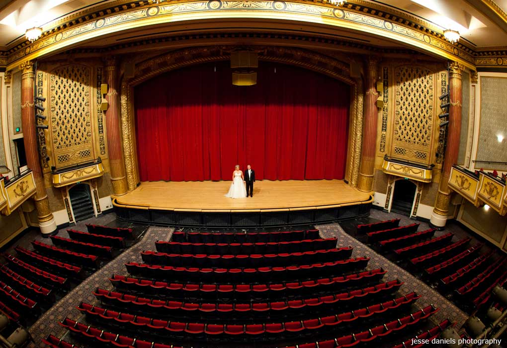 victory theatre, evansville indiana real wedding produced by ...