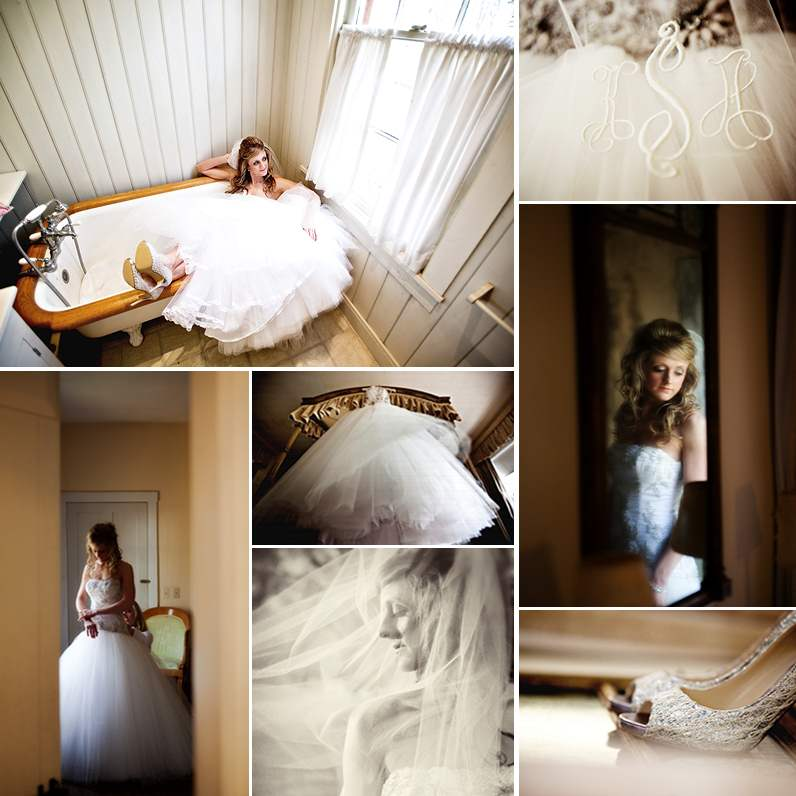 kerry sesenbrenner wedding collage