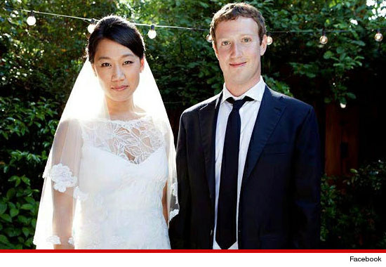 mark zuckerberg marries!