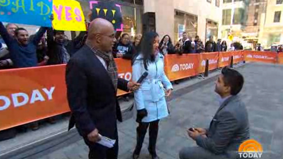 today show t.v. marriage proposals ... lets not