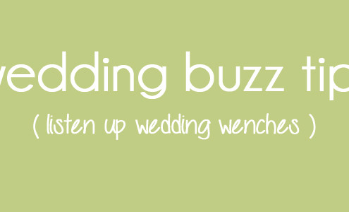 wedding buzz tips feature 495x300 blog