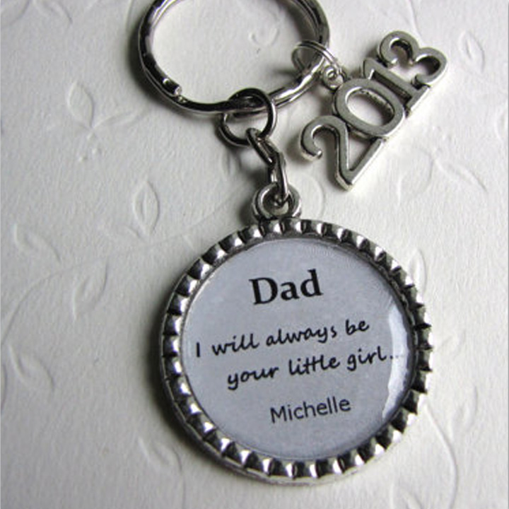 dad keychain wedding gifts for parents