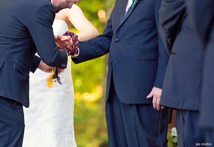 tallis wedding ceremony