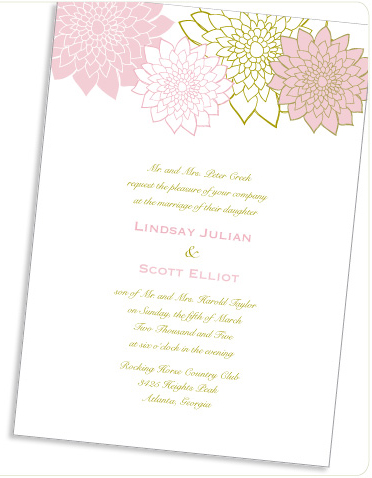 pinwheel earth friendly invitations