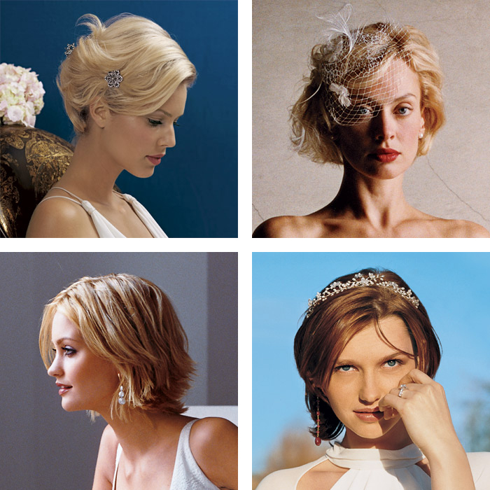 short wedding hair ideas 2