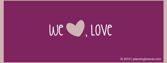 we love, love