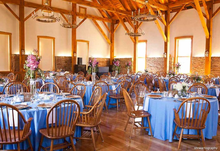 granary wedding reception